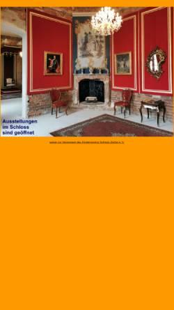 Vorschau der mobilen Webseite www.schloss-zerbst-ev.de, Förderverein Schloss Zerbst e.V.