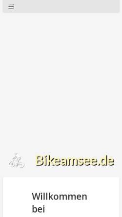 Vorschau der mobilen Webseite www.bikeamsee.de, Bike am See Konstanz