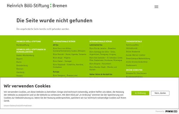 Vorschau von www.boell-bremen.de, Helmut Spitzley: Arbeitszeitverlängerung ist kontraproduktiv