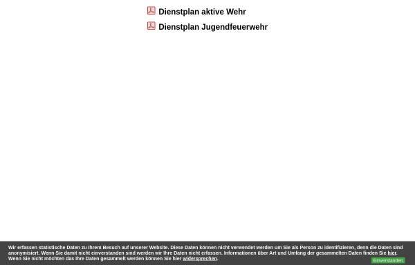 Vorschau von www.ff-ottendorf.de, Freiwillige Feuerwehr Ottendorf - Kirnitzschtal
