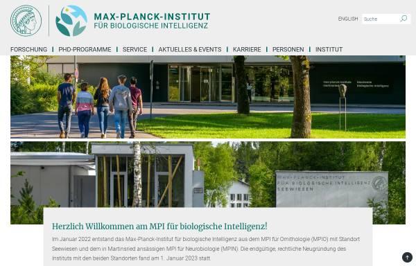 Vorschau von www.neuro.mpg.de, Max-Planck-Institut für Neurobiologie Martinsried