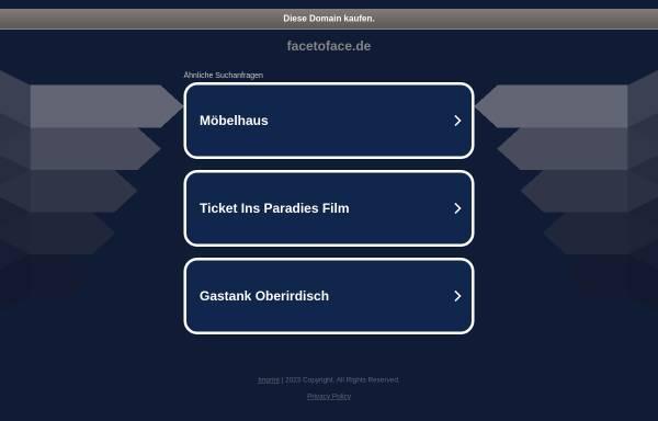 Vorschau von www.facetoface.de, Bildagentur face to face Beck & Wiese GmbH
