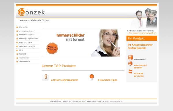 Vorschau von www.bonzek.de, Bonzek GmbH