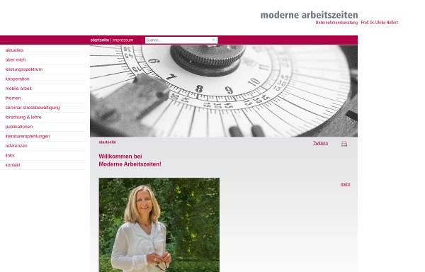 Vorschau von www.hellert.de, Dr. Ulrike Hellert - Moderne Arbeitszeiten
