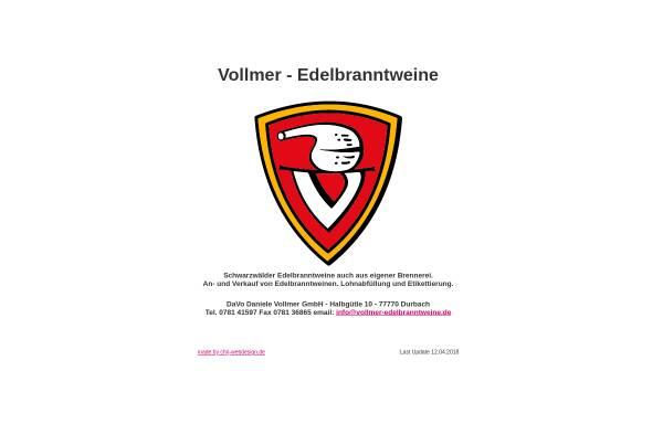 Daniele Vollmer GmbH in Durbach: Spirituosen, Getränke vollmer ...