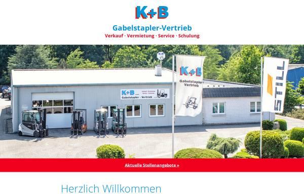 Vorschau von www.gabelstapler-vertrieb-kb.de, Gabelstapler-Vertrieb K+B GmbH