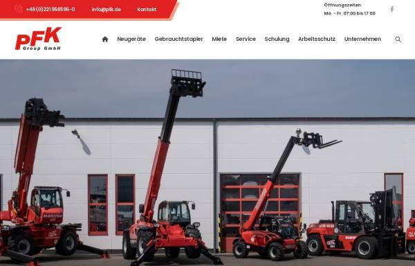 Vorschau von www.pfk.de, PFK Group GmbH