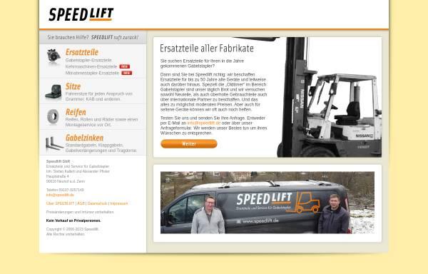 Vorschau von www.speedlift.de, Speedlift - Handelshaus Heinz Fischer