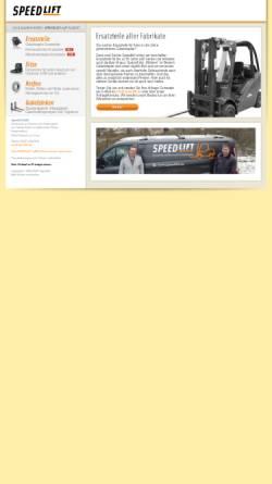 Vorschau der mobilen Webseite www.speedlift.de, Speedlift - Handelshaus Heinz Fischer