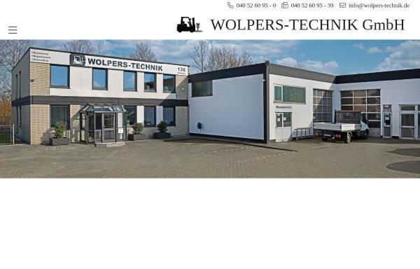 Vorschau von www.wolpers-technik.de, Wolpers-Technik GmbH Maschinen- und Apparatebau