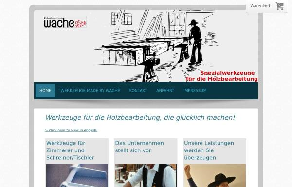 Vorschau von www.wache-ist-sache.de, Friedemann Wache