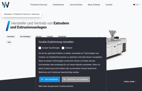 Vorschau von www.holzschleifmaschine.de, Hans Weber Maschinenfabrik GmbH