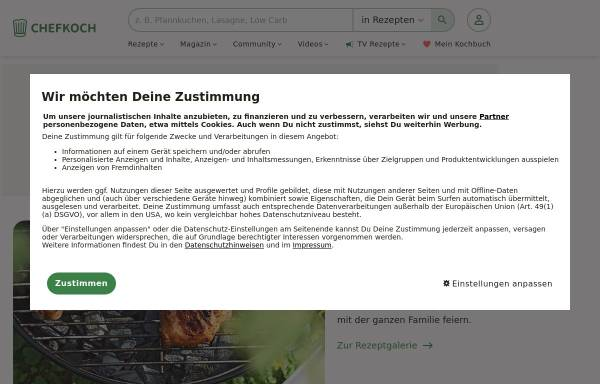 Vorschau von www.chefkoch.de, Chefkoch.de