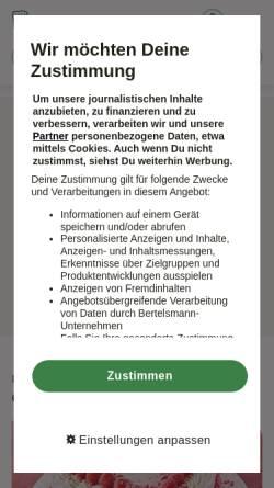 Vorschau der mobilen Webseite www.chefkoch.de, Chefkoch.de