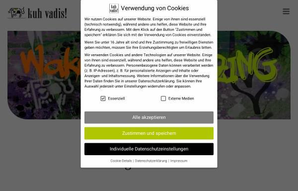 Vorschau von www.kuh-vadis.com, kuh vadis! Kommunikationsdesign