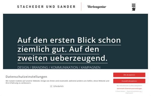 Vorschau von www.stachederundsander.de, Stacher und Sander