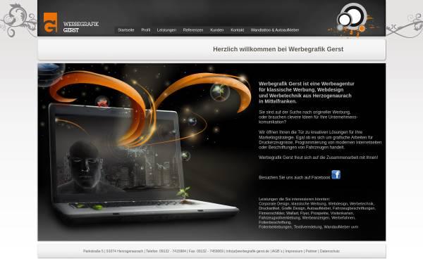 Vorschau von www.gerst-mediendesign.de, Gerst Media