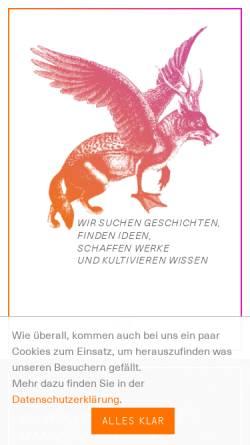 Vorschau der mobilen Webseite www.werkstatt-fuer-gestaltung.com, werkstatt für gestaltung