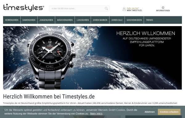 Vorschau von www.timestyles.de, Timestyles GmbH