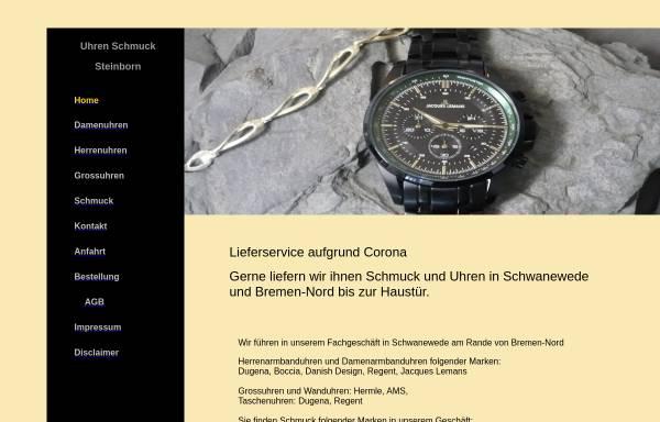Vorschau von www.uhren-steinborn.de, Uhren Steinborn