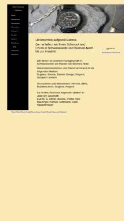 Vorschau der mobilen Webseite www.uhren-steinborn.de, Uhren Steinborn
