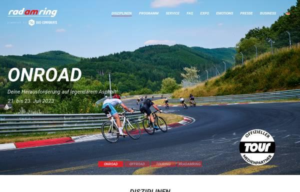 Vorschau von www.radamring.de, Rad am Ring / Run am Ring