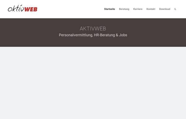 Vorschau von aktivweb.ch, AktivWeb, Online Consulting Claudio Cittarini