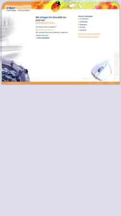 Vorschau der mobilen Webseite www.intermedien.net, Intermedien, Dr. rer. soc. Susanne Rupp