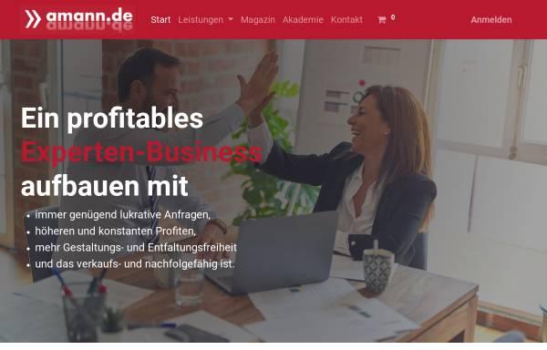 Vorschau von www.amann.de, Marcus Amann