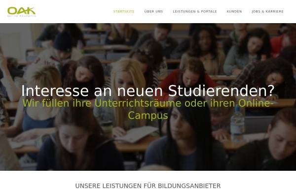 Vorschau von www.online-akademie-koeln.de, Online Akademie Köln - Michelsen, Tibroni u. Tibroni GbR