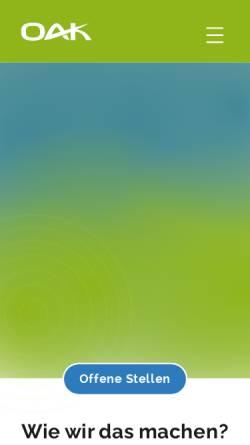 Vorschau der mobilen Webseite www.online-akademie-koeln.de, Online Akademie Köln - Michelsen, Tibroni u. Tibroni GbR