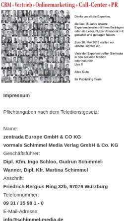 Vorschau der mobilen Webseite www.online-marketing-experts.de, Online Marketing Experts