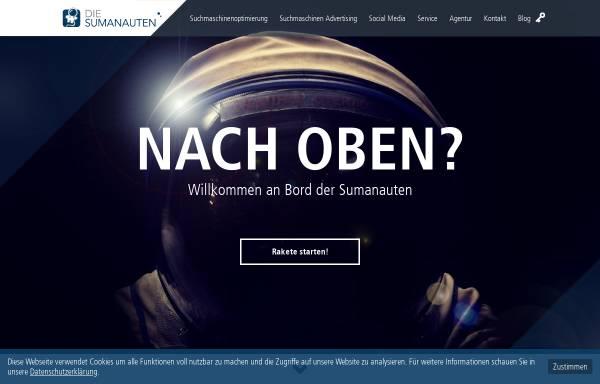 Vorschau von www.sumanauten.de, Sumanauten GmbH