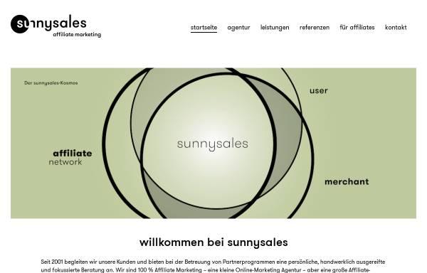 Vorschau von www.sunnysales.de, Sunnysales GmbH
