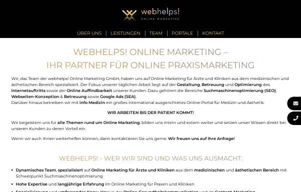 Vorschau von webhelps.de, Webhelps! Online Marketing GmbH