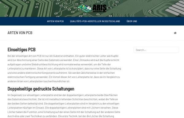 Vorschau von www.aris-umfrageforschung.de, BIK Umfrageforschung