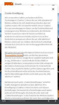 Vorschau der mobilen Webseite www.gfk.com, GfK Aktiengesellschaft