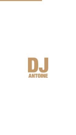 Vorschau der mobilen Webseite djantoine.com, DJ Antoine