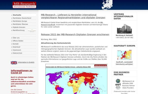 Vorschau von www.mb-research.de, Michael Bauer Research GmbH
