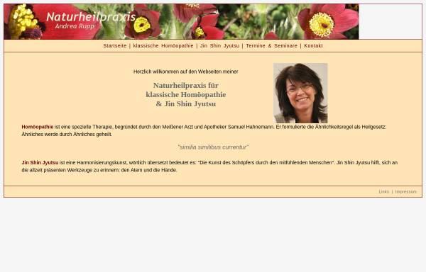 Vorschau von www.homoeopathie-ma.de, Andrea Rupp