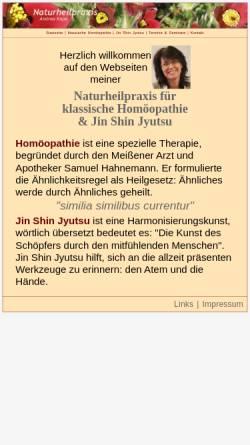 Vorschau der mobilen Webseite www.stroemen-mannheim.de, Andrea Rupp