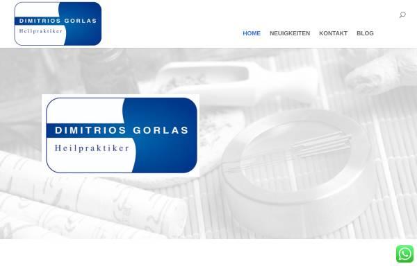 Vorschau von www.gorlas.de, Dimitrios Gorlas
