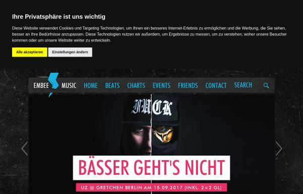 Vorschau von embee-music.de, DJ Embee