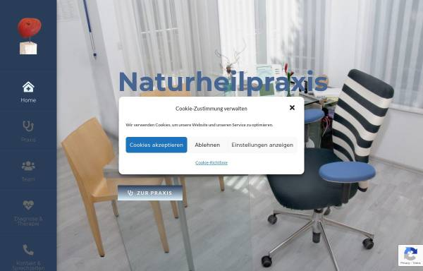 Vorschau von www.naturheilpraxis-sommer-frey.de, Naturheilpraxis Sommer-Frey