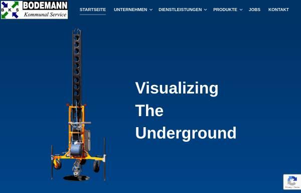 Vorschau von www.bodemann.com, Bodemann GmbH