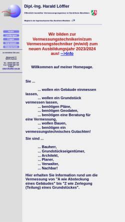 Vorschau der mobilen Webseite www.loeffler-nrw.de, Löffler, Harald