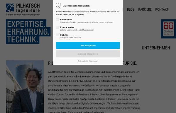 Vorschau von www.pilhatsch-geo.de, Pilhatsch, Martin und Walter