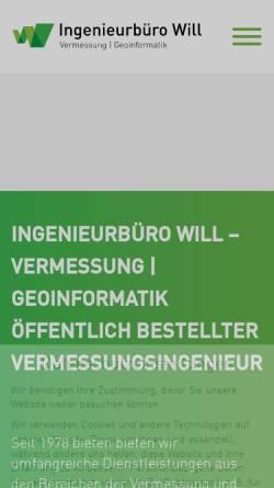Vorschau der mobilen Webseite www.schallenmueller-will.de, Schallenmüller & Will GbR
