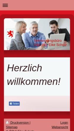 Vorschau der mobilen Webseite www.dervermesser.de, Scholz, Eike
