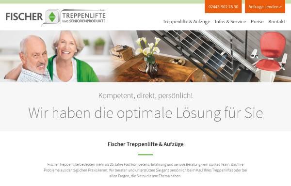 Vorschau von www.fischer-treppenlifte.de, Fischer Treppenlifte & Seniorenprodukte GmbH